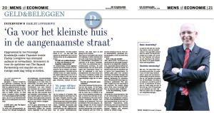 De Standaard, 11 February 2013