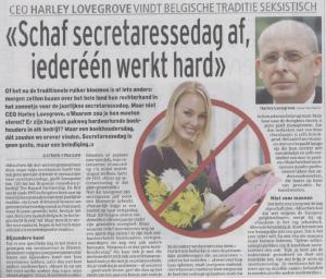 Press - Het Laatste Nieuws, 18 April 2012