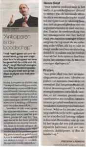 Press - Media Planet, De Standaard, 2 September 2010
