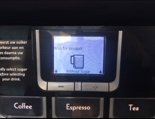 The coffee machine is not working properly